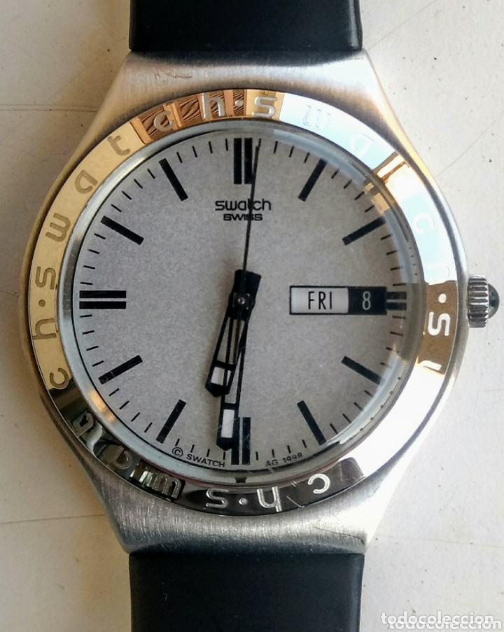 RELOJ SWATCH IRONY AG 1998. (Relojes - Relojes Actuales - Swatch)