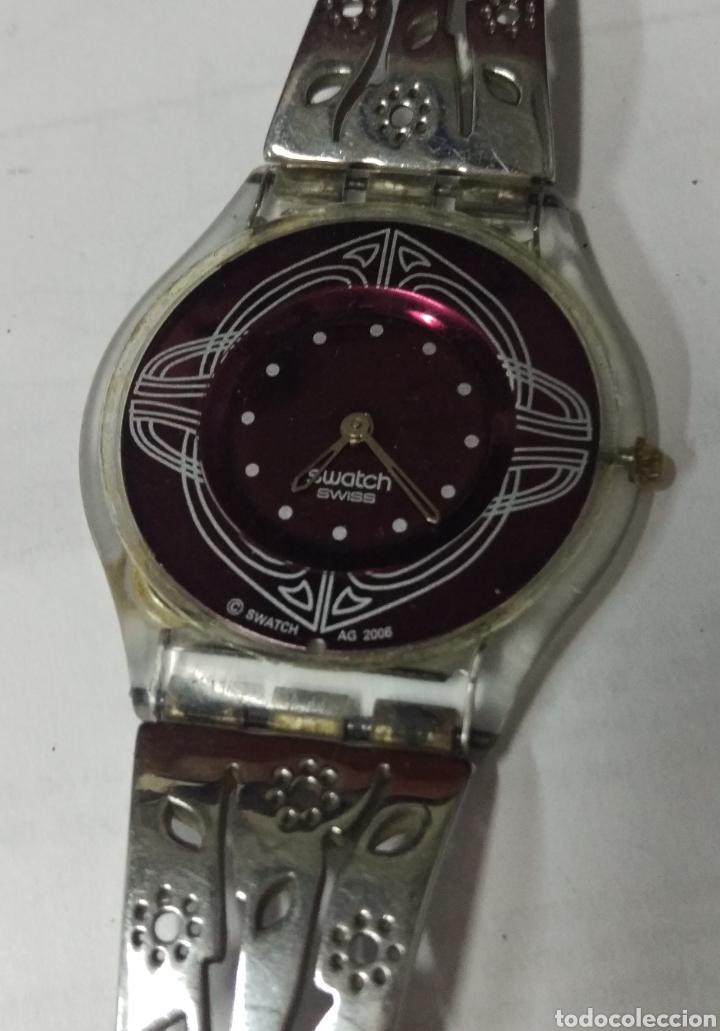 RELOJ SWATCH EXTRAPLANO AG 2006 (Relojes - Relojes Actuales - Swatch)