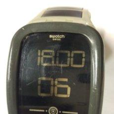 Relojes - Swatch: RELOJ SWATCH DIGITAL TOUCH ZERO ONE EARTHZERO SUVT100 . 39 MM.. Lote 175052993