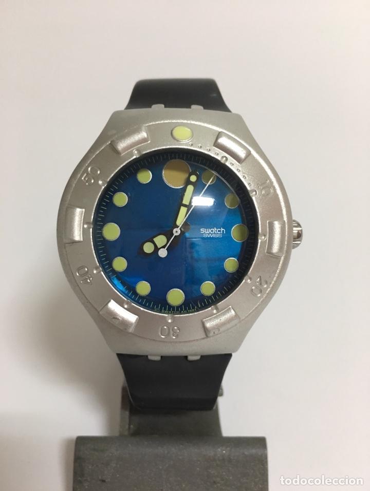 Relojes - Swatch: RELOJ SWATCH SCUBA 200 MTS DE ALUMINIUM - Foto 2 - 175294095