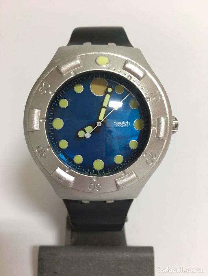RELOJ SWATCH SCUBA 200 MTS DE ALUMINIUM (Relojes - Relojes Actuales - Swatch)