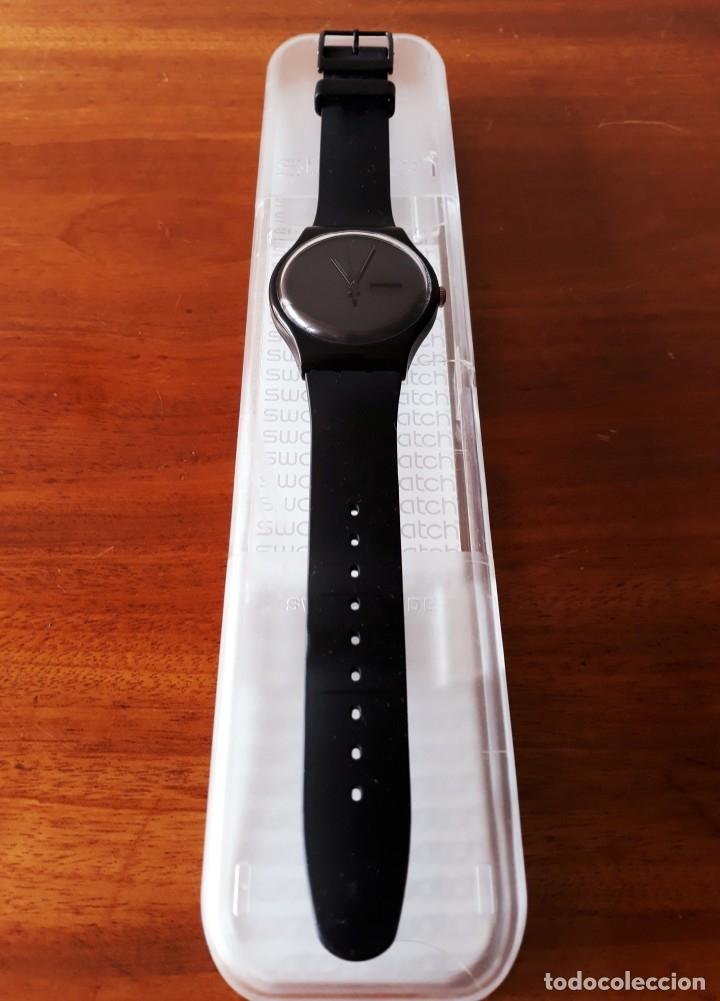 Relojes - Swatch: Reloj Swatch Modelo BLACK REBEL. Muy buen estado - Foto 2 - 176565502