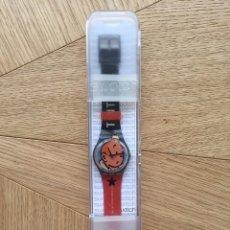 Relojes - Swatch: RELOJ SWATCH TINTIN EDICIÓN ESPECIAL 75 ANIVERSARIO CON CAJA. Lote 178883646