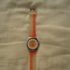 Relojes - Swatch: RELOJ SWATCH DE ACERO Y CORREA DE SILICONA. Lote 178934350