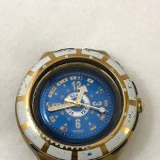 Relojes - Swatch: RELOJ SWATCH 1994 SCUBA ( PARA REPARAR O PIEZAS). Lote 179186362