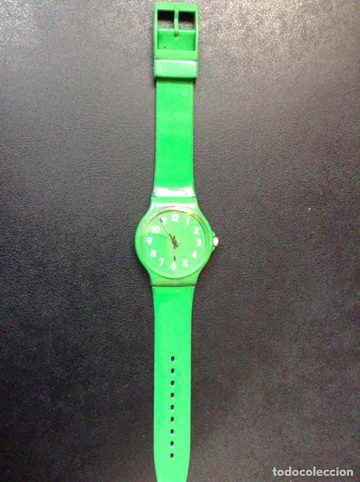 Relojes - Swatch: RELOJ SWATCH VERDE MODELO GM170C A ESTRENAR - Foto 4 - 169033636