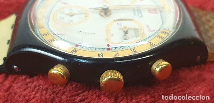 Relojes - Swatch: PAREJA DE RELOJES DE PULSERA. CUARZO. SWATCH SWISS. AÑOS 90. - Foto 2 - 182488047