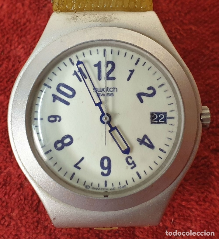 Relojes - Swatch: PAREJA DE RELOJES DE PULSERA. CUARZO. SWATCH SWISS. AÑOS 90. - Foto 3 - 182488047