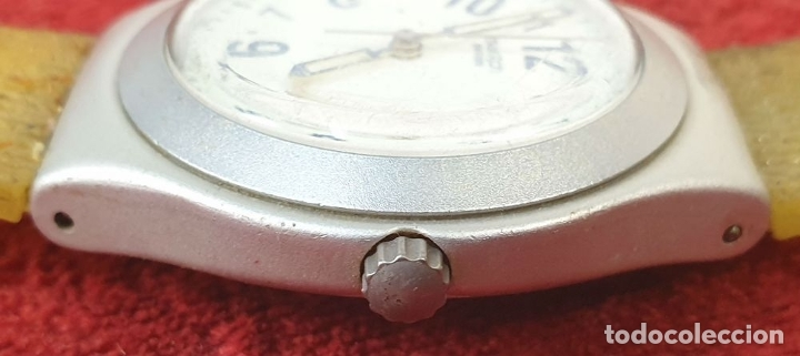 Relojes - Swatch: PAREJA DE RELOJES DE PULSERA. CUARZO. SWATCH SWISS. AÑOS 90. - Foto 6 - 182488047