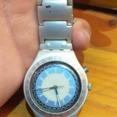 Relojes - Swatch: RELOJ SWATCH IRONY ALUMINIUM FUNCIONA. Lote 182944256