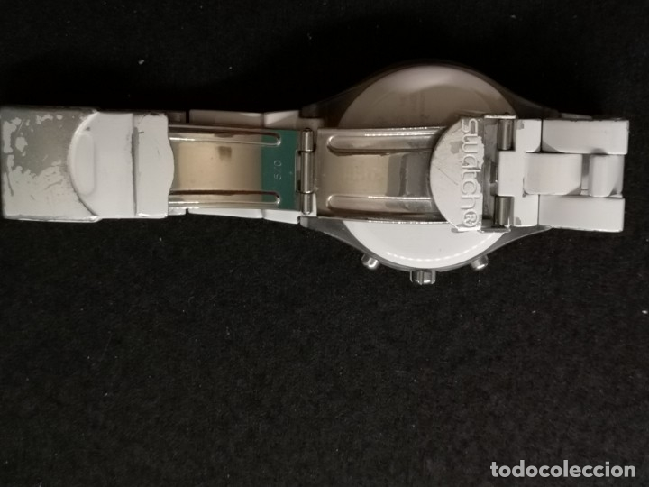 Relojes - Swatch: reloj swatch irony diaphane blanco - Foto 4 - 183189422