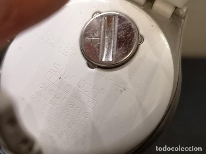 Relojes - Swatch: reloj swatch irony diaphane blanco - Foto 6 - 183189422