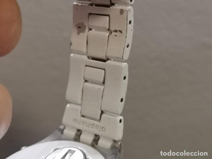 Relojes - Swatch: reloj swatch irony diaphane blanco - Foto 8 - 183189422