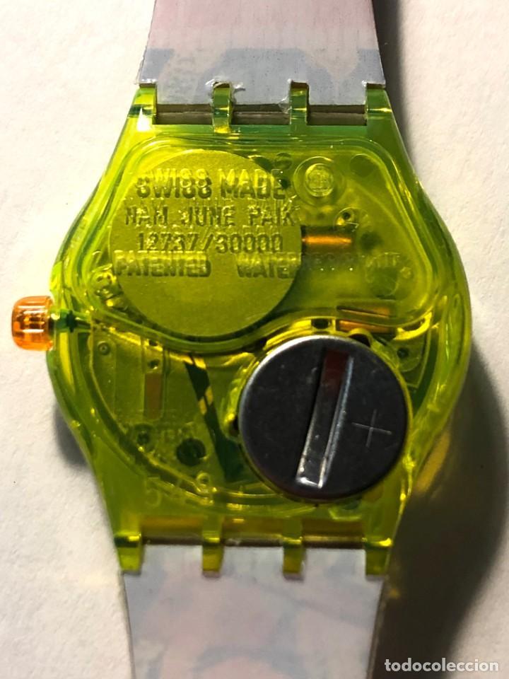 Relojes - Swatch: RELOJ SWATCH - ZAPPING - NAM JUNE PAIK - EDICIÓN LIMITADA - FUNCIONANDO NUEVO / N-9430 - Foto 6 - 184114246