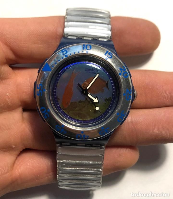 RELOJ SWATCH - PECES - EDICIÓN LIMITADA - FUNCIONANDO NUEVO / N-9431 (Relojes - Relojes Actuales - Swatch)