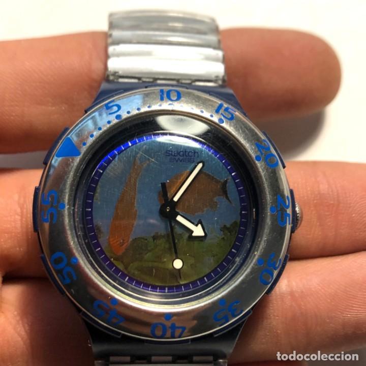 Relojes - Swatch: RELOJ SWATCH - PECES - EDICIÓN LIMITADA - FUNCIONANDO NUEVO / N-9431 - Foto 2 - 184114721