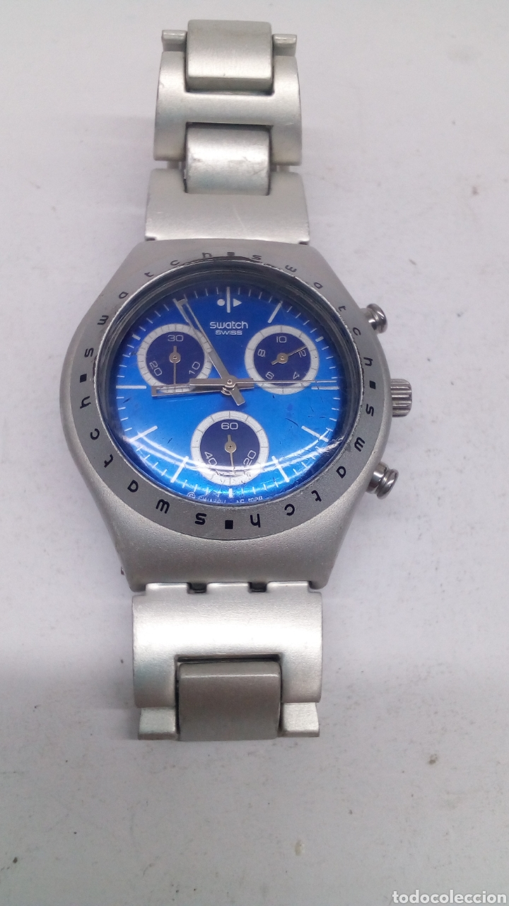 RELOJ SWATCH IRONY ALUMINIUM CHRONOGRAPH (Relojes - Relojes Actuales - Swatch)