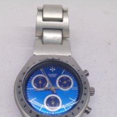 Relojes - Swatch: RELOJ SWATCH IRONY ALUMINIUM CHRONOGRAPH. Lote 184527743