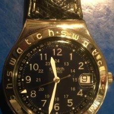 Relojes - Swatch: RELOJ SWATCH IRONY EN CAJA ROJA ORIGINAL, FUNCIONANDO Y SIN ESTRENAR. FOTOS. Lote 186348740