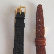 Relojes - Swatch: RELOJ SEIKO MUJER VINTAGE. CHAPADO EN ORO. CON CORREA DE REPUESTO. FINALES DE LOS 80. Lote 187215010