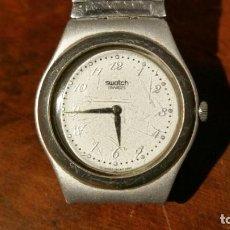 Relojes - Swatch: RELOJ DE SEÑORA SWATCH IRONY CORREA METALICA SWATCH - FUNCIONANDO. Lote 188686777
