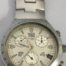 Relojes - Swatch: RELOJ SWATCH AG 2002 CHRONOGRAPH ALUMINIUM COMO NUEVO SIN USO. Lote 190340863