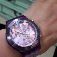 Relojes - Swatch: RELOJ SWATCH SWISS BLUEBERRY. Lote 190448396