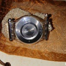 Relojes - Swatch: RELOJ SWATCH 2002 CON PULSERA DE PLATA 925. Lote 190979188