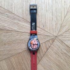 Relojes - Swatch: SWATCH TINTÍN EDICIÓN 75 ANIVERSARIO. Lote 192999907
