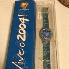 Relojes - Swatch: RELOJ SWATCH EDICIÓN ESPECIAL LIMITADA EURO 2004 PORTUGAL. CAMPEONATO EUROPEO FÚTBOL. SIN ESTRENAR.. Lote 193654397