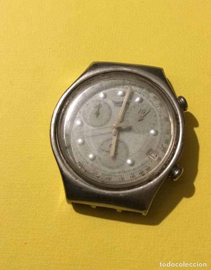 ANTIGUO RELOJ SWATCH ESPECTACULAR NO FUNCIONA (Relojes - Relojes Actuales - Swatch)