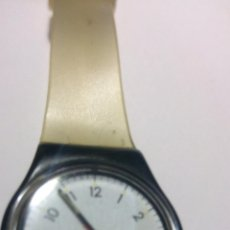 Relojes - Swatch: RELOJ SWATCH SWISS MADE PATENTED 5717 CORREA ORIGINAL DE PLÁSTICO WATERRESISTANT. Lote 194508500