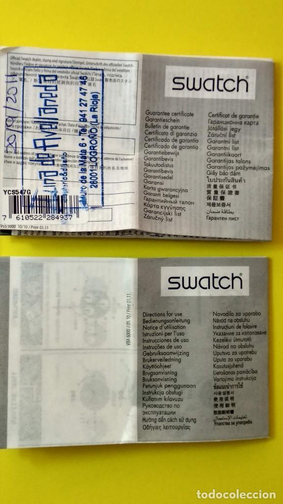 Relojes - Swatch: SWATCH IRONY SCUBA 200 CHRONO - Foto 7 - 194782912