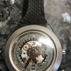 Relojes - Swatch: SWATCH AUTOMÁTICO DIÁFANO. Lote 195403438