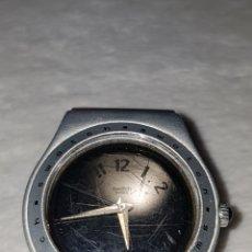 Relojes - Swatch: AUTENTICO Y ORIGINAL RELOJ SWATCH, UNISEXO, ECHO EN ALUMINIO Y PATENTADO, SELLADO SWISS MADE. Lote 196228428