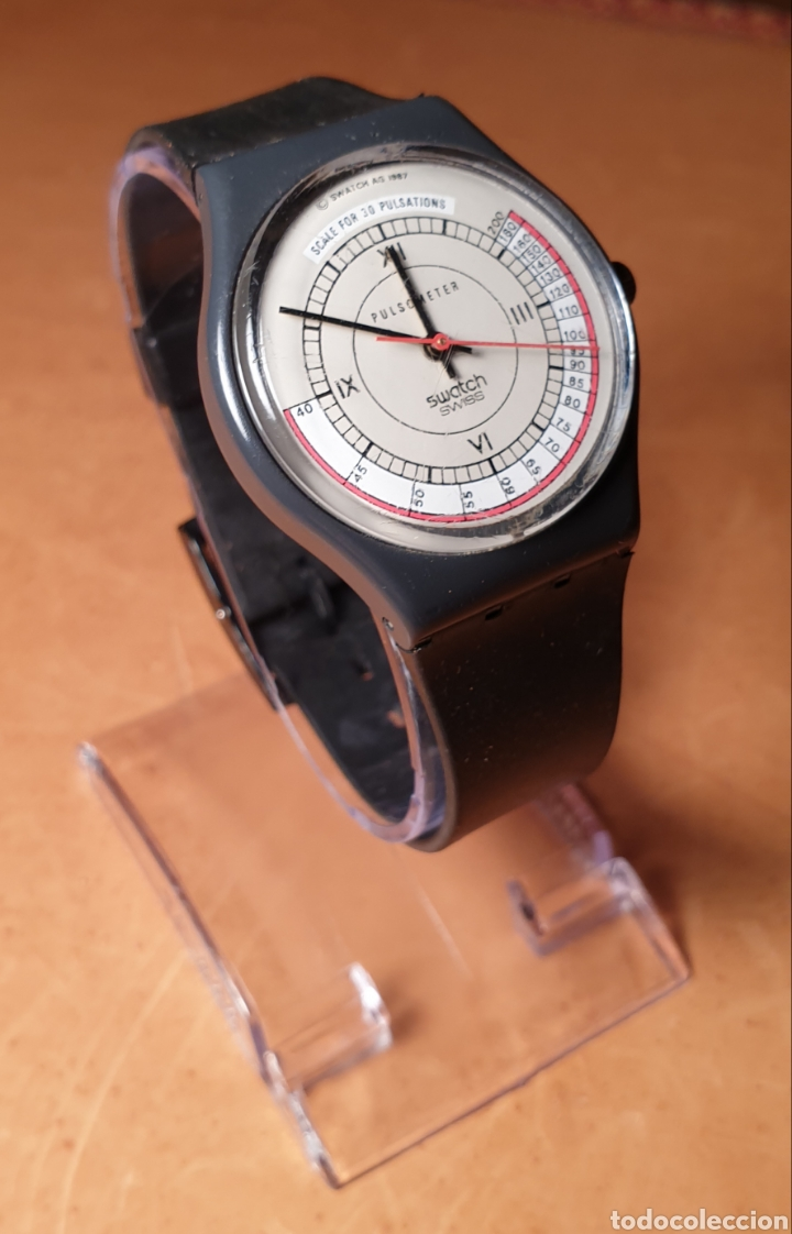 SWATCH 1987 PULSOMETER (Relojes - Relojes Actuales - Swatch)