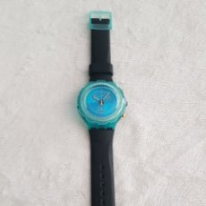 Relojes - Swatch: MAGNIFICO RELOJ SWATCH SELLADO MADE IN SWISS, PARA DEPORTISTAS DE TERRENO/AGUA. Lote 196510177