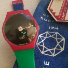 Relojes - Swatch: SWATCH CRYSTAL SURPRISE, MADE IN SWISS, DE 1994 EN SU BOLSA ORIGINAL.. Lote 196521101