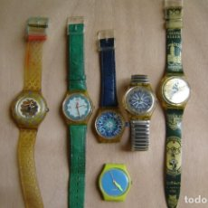 Relojes - Swatch: LOTE DE SEIS (6) RELOJES SWATCH . Lote 198988131
