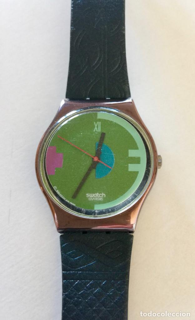 RELOJ DE PULSERA SWATCH SUIZA VINTAGE 1989 (Relojes - Relojes Actuales - Swatch)