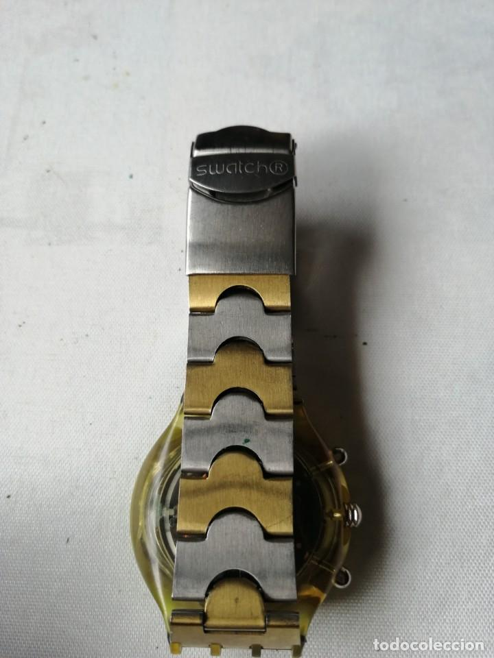 Relojes - Swatch: RARO RELOJ DE PULSERA SWATCH .QUARTZ. - Foto 6 - 202636161