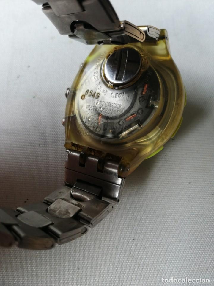 Relojes - Swatch: RARO RELOJ DE PULSERA SWATCH .QUARTZ. - Foto 8 - 202636161
