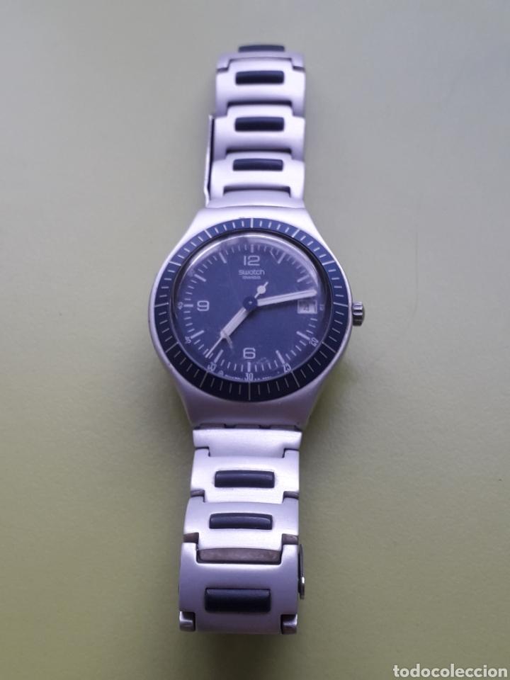 RELOJ DE PULSERA SWATCH SWISS IRONY ALUMINIUM NO LO HE PROBADO POR FALTA DE PILAS (Relojes - Relojes Actuales - Swatch)