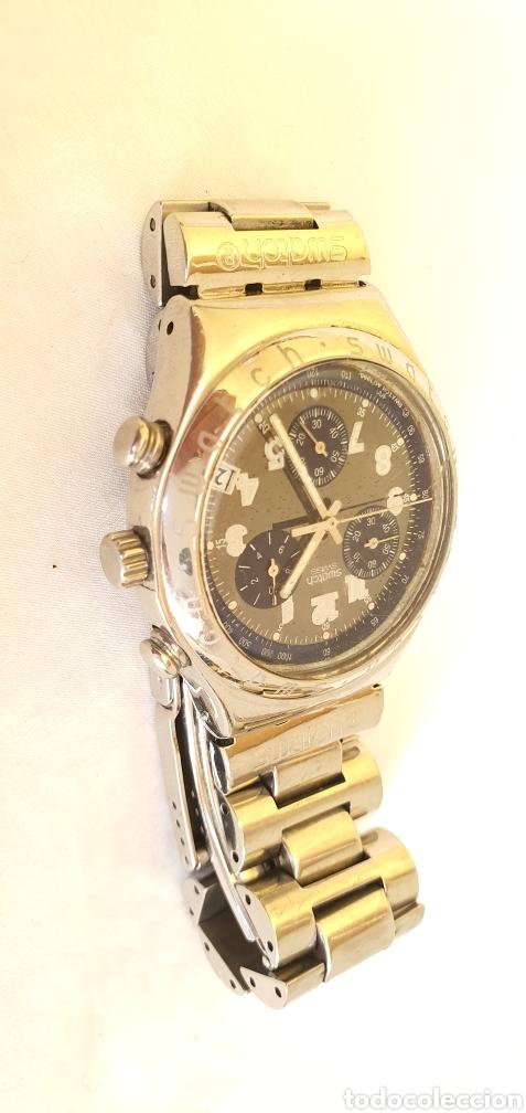Relojes - Swatch: RELOJ SWATCH CRONOGRAFO CUARZO.MIDE 40MM DIAMETRO SIN CONTAR LA CORONA - Foto 2 - 206126912