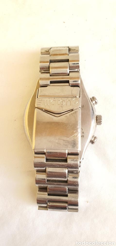 Relojes - Swatch: RELOJ SWATCH CRONOGRAFO CUARZO.MIDE 40MM DIAMETRO SIN CONTAR LA CORONA - Foto 4 - 206126912