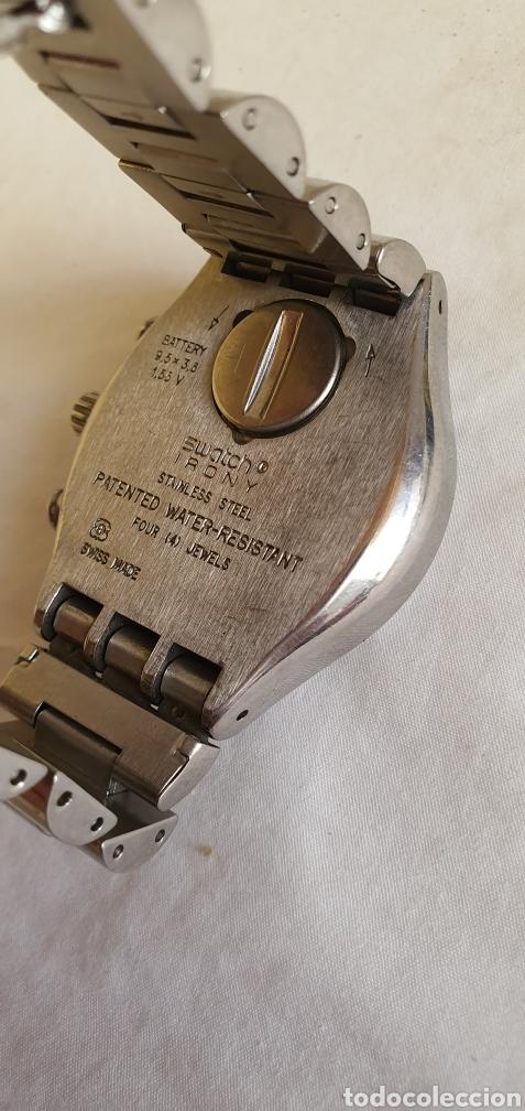 Relojes - Swatch: RELOJ SWATCH CRONOGRAFO CUARZO.MIDE 40MM DIAMETRO SIN CONTAR LA CORONA - Foto 6 - 206126912