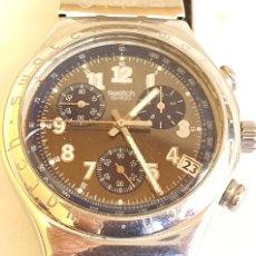Relojes - Swatch: RELOJ SWATCH CRONOGRAFO CUARZO.MIDE 40MM DIAMETRO SIN CONTAR LA CORONA. Lote 206126912