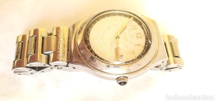 Relojes - Swatch: RELOJ SWATCH CUARZO .MIDE 35MM DIAMETRO SIN CONTAR LA CORONA - Foto 2 - 206127262