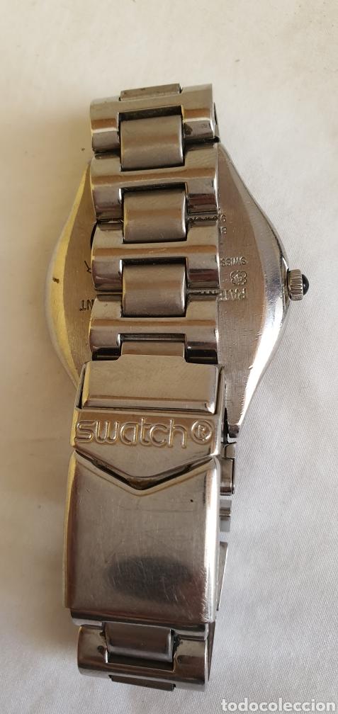 Relojes - Swatch: RELOJ SWATCH CUARZO .MIDE 35MM DIAMETRO SIN CONTAR LA CORONA - Foto 4 - 206127262