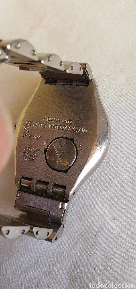 Relojes - Swatch: RELOJ SWATCH CUARZO .MIDE 35MM DIAMETRO SIN CONTAR LA CORONA - Foto 5 - 206127262